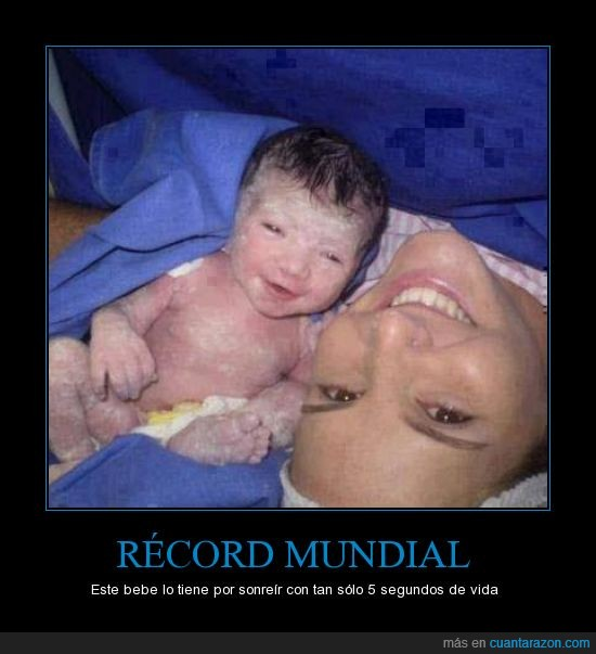 bebe,fotografia,mundial,nacer,record,sonreir