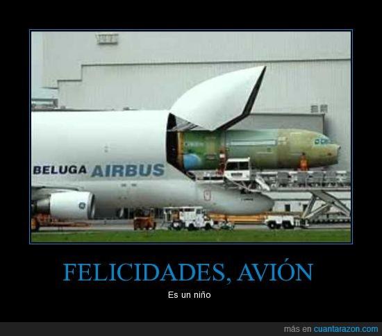 airbus,avión,embarazado,hijo,parir