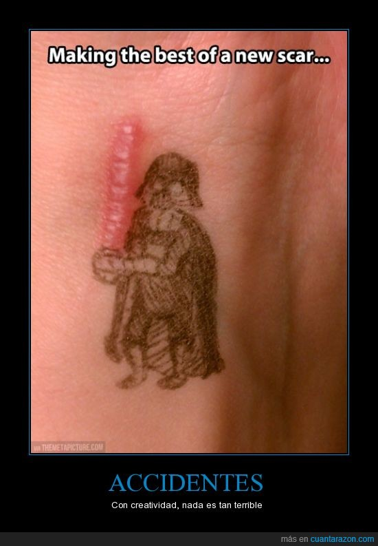 boli,cicatriz,darth vader,pintar,sable laser,scar,star wars