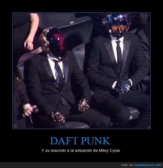 Daft Punk,Miley Cyrus,que cojones es esto,WTF!