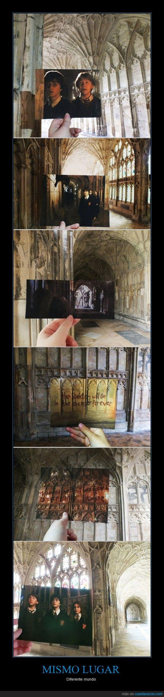 fotograma,Harry potter,localizacion,rodaje