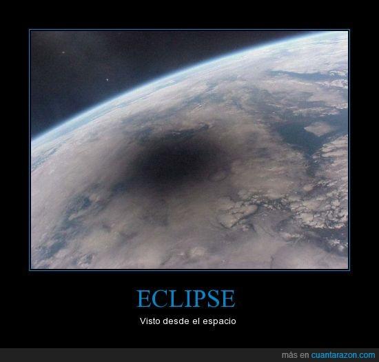Eclipse,espacio,foto,impresionante