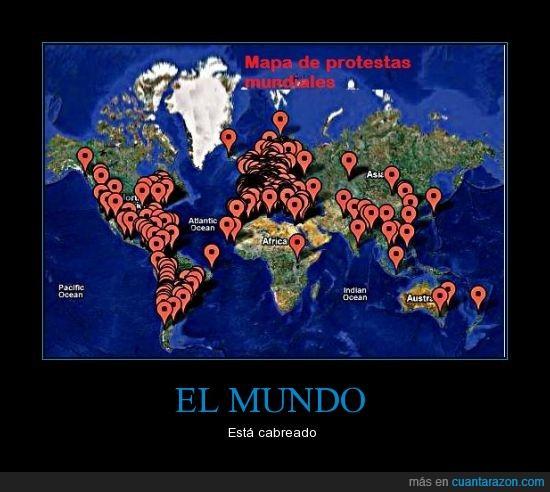 mapa,mundiales,protestas,revolucion