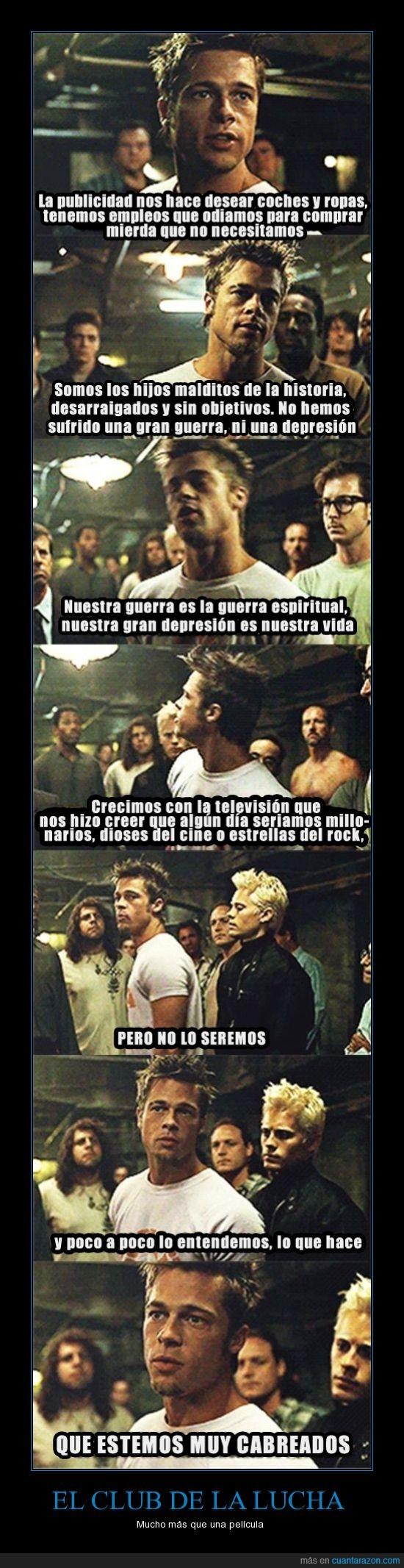 club de la lucha,critica,filosofia,nietzsche,nihilismo