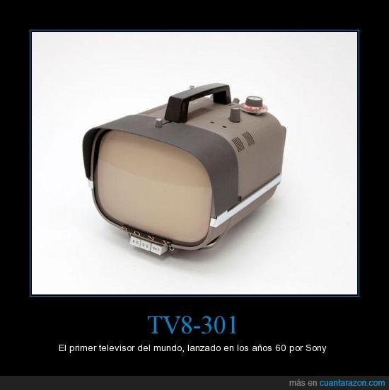 60,primer,sony,televisor,TV8-301