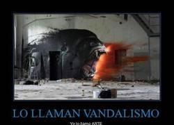 Enlace a LO LLAMAN VANDALISMO