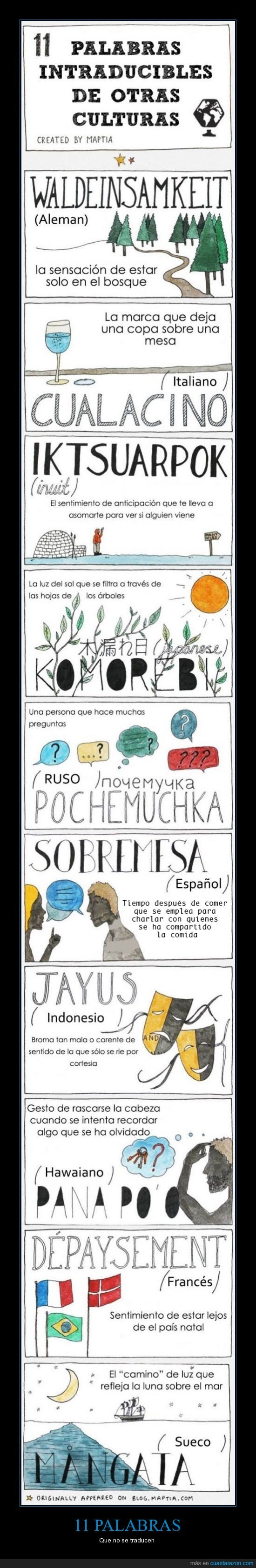 anticipa,idiomas,interesante,mirar,palabras,sobremesa,traducción