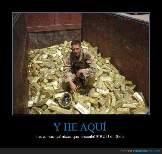 dinero,eeuu,lingote,oro,siria