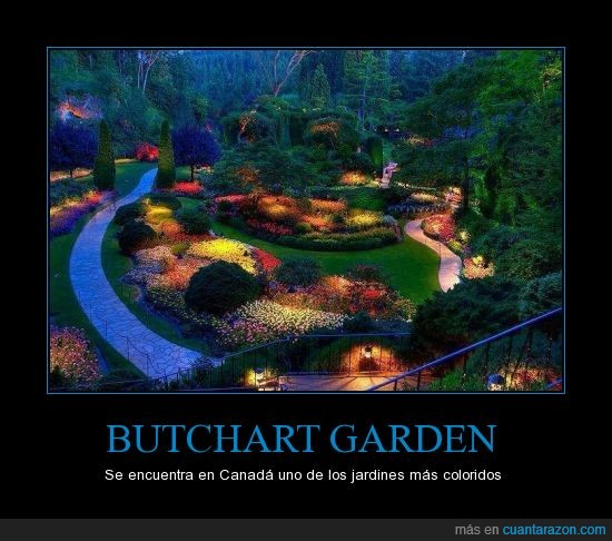 Butchart Garden,Canada,colorido,flores