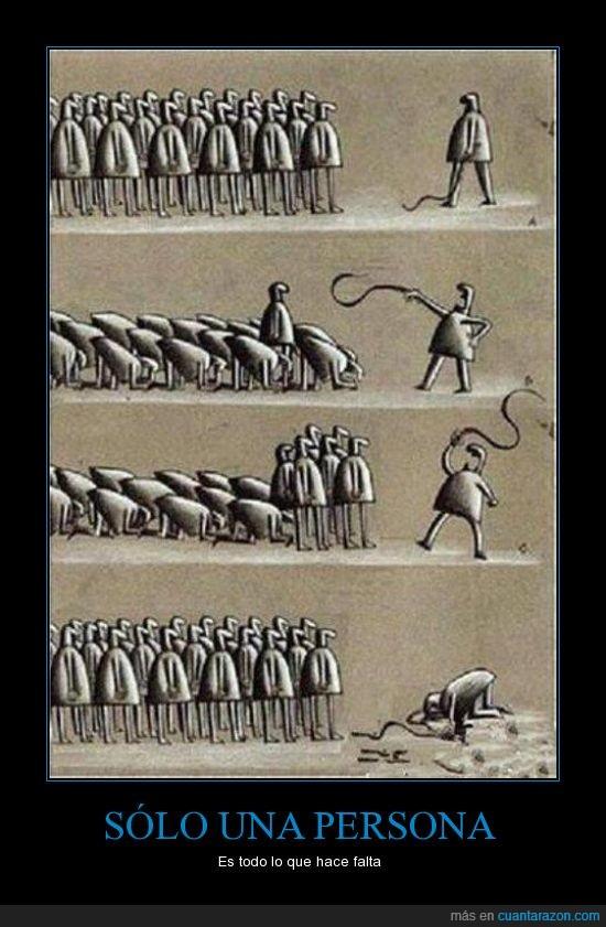 latigo,lider,persona,personas,poder,primero,pueblo,Rebelion,revolucion,tiranía