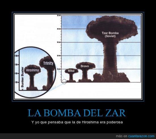 atomica,bomba,bravo,en español de pone como zar,estados unidos,explosión,Hiroshima,mike,radioactivo,rusia,se dice tsar en ingles,trinity