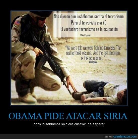 guerra,obama,ocupacion,ocupar,soldado,terrorismo,terrorista