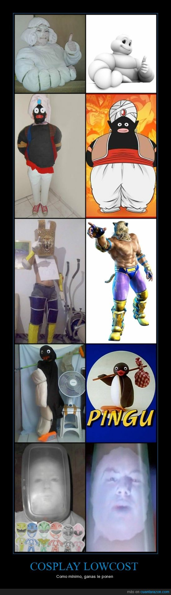 cosplay,disfraz,michellin,pingu,popo,power rangers
