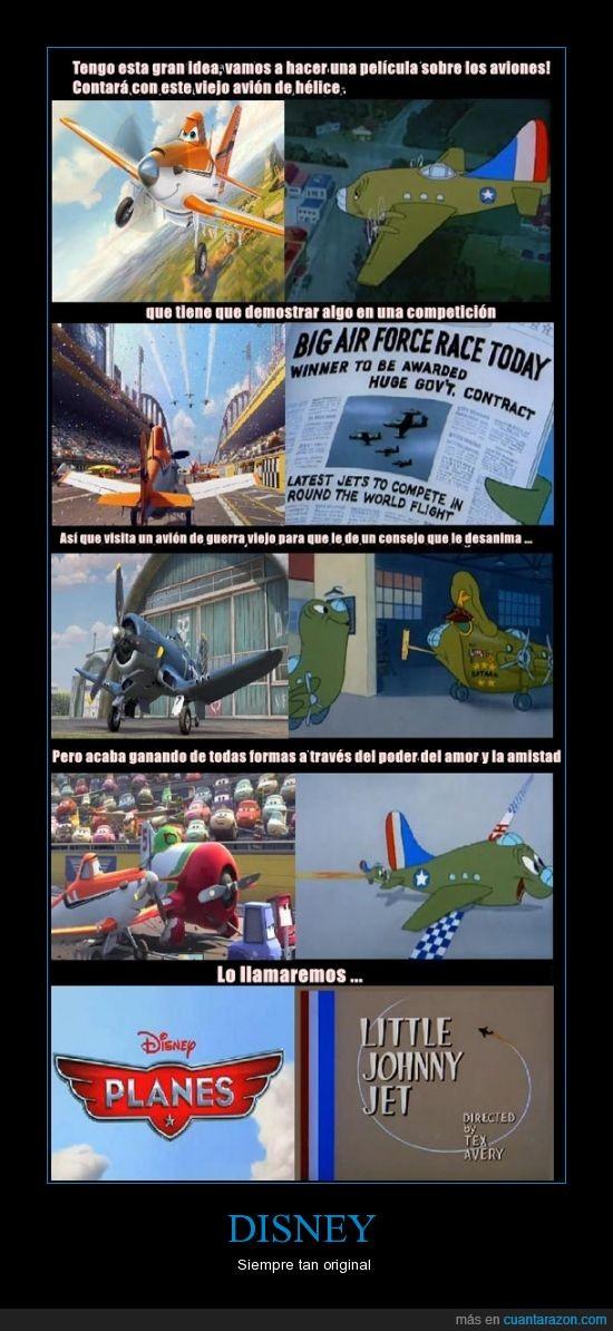 aviones,copia,little johnny jet,plagio,planes,tex avery