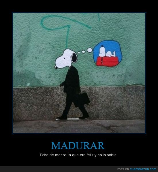 caseta,ejecutivo,empresario,graffiti,pintada,Snoopy,traje