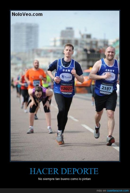 correr,maraton,potar,vomitar