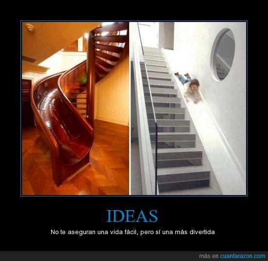 bajar,caracol,Escaleras,tobogán,¿quien no quisiera hacerlo?