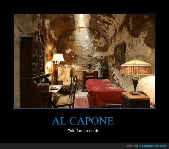 Al Capone,Celda,Mafia,Negocios,Poder