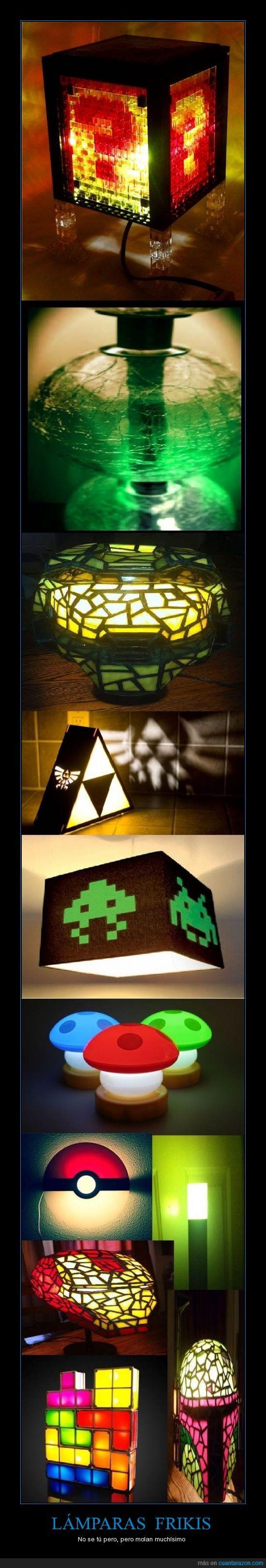 frikis,increible,juegos,lamparas,luces,Mario,mi etiqueta es una basura,molan,Star,Tetris,videojuegos,zelda triforce