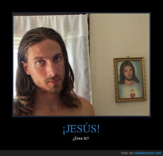 chico,clavado,dios,el salvador,jesus,parecidos,religión,te vigila y sabe que te tocas