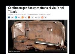 Enlace a VIOLÍN DEL TITANIC