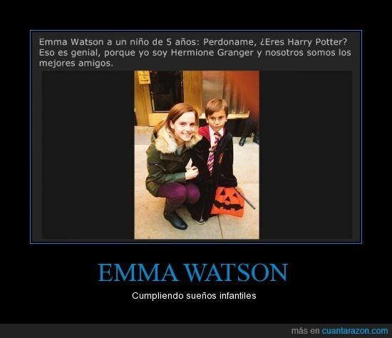 disfraz,Emma watson,harry potter,hermione,niño,sueño