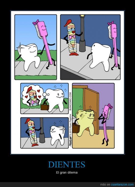 amor,caramelo,cepillo de dientes,diente,infiel,muela