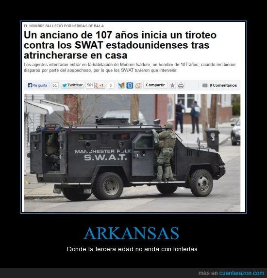A3,Arkansas,EEUU,noticias,Swat,tiroteo