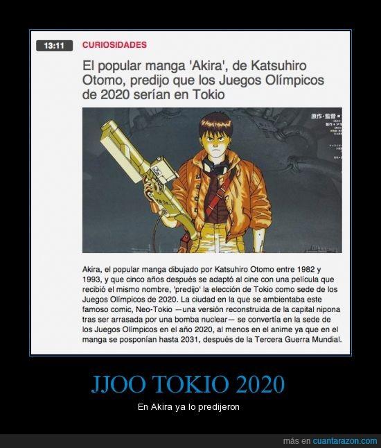 akira,jjoo,juegos olimpicos,manga,tokio,tokyo