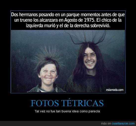 estatica,foto,hermanos,mala descripcion,tetrico