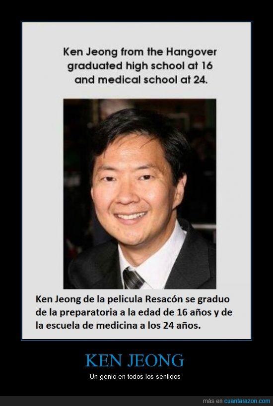 Actor,doctor,inteligente,Ken Jeong,listo,medicina,Medico,Resacón