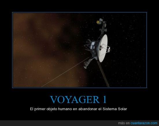 NASA; Espacio Interestelar,Sistema Solar,Voyager 1,¡Hasta el infinito y más allá!