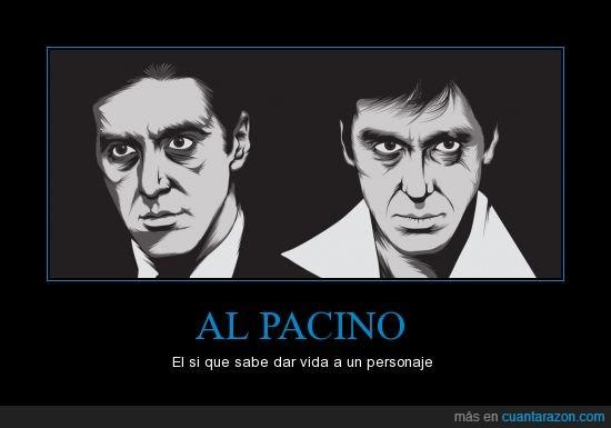 Al Pacino,Michael Corleone,si hubiera una pelea entre Montana y Corleone quien ganaria?,Tony Montana,vida