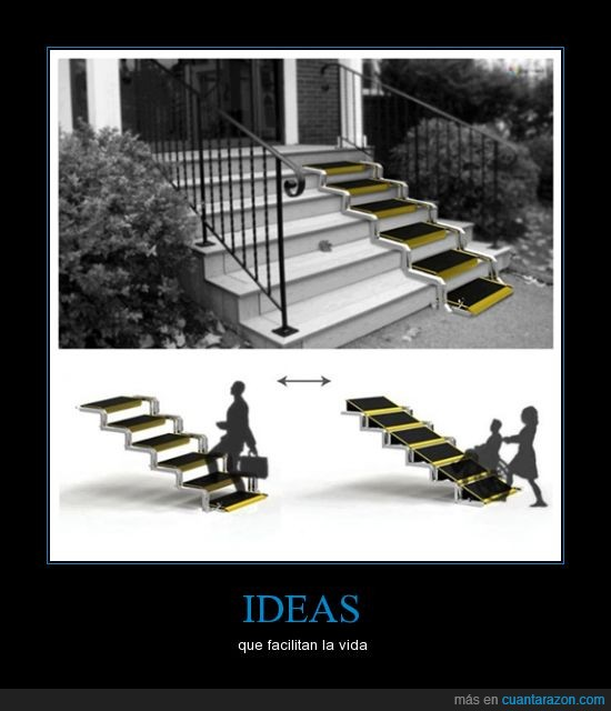 Cu nta raz n ideas for Sillas de escaleras para minusvalidos