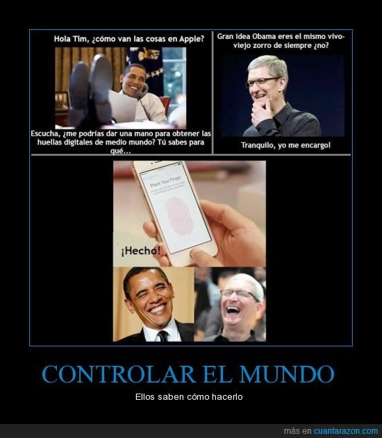 apple,huella dactilar,movil,obama,smartphone