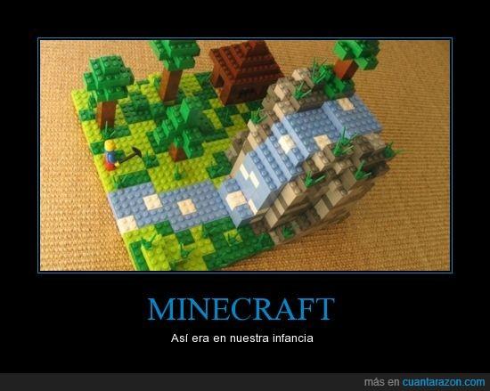 infancia,LEGO,minecraft,mundo,pico