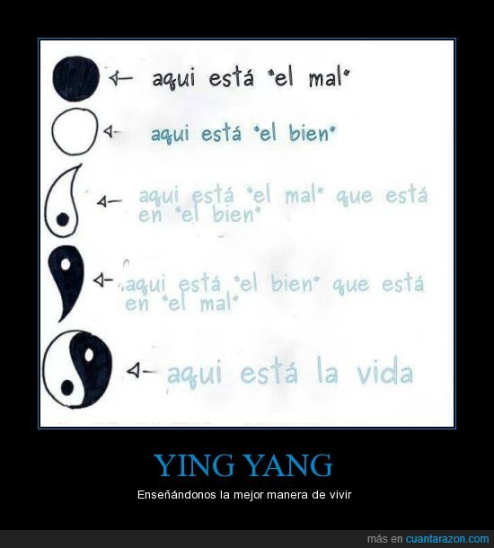 aprender a vivir,blanco,enseñar,negro,ying yang