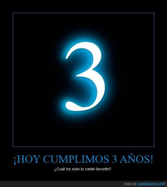 cr,cuanta razon,cumpleaños,tiempo,tres