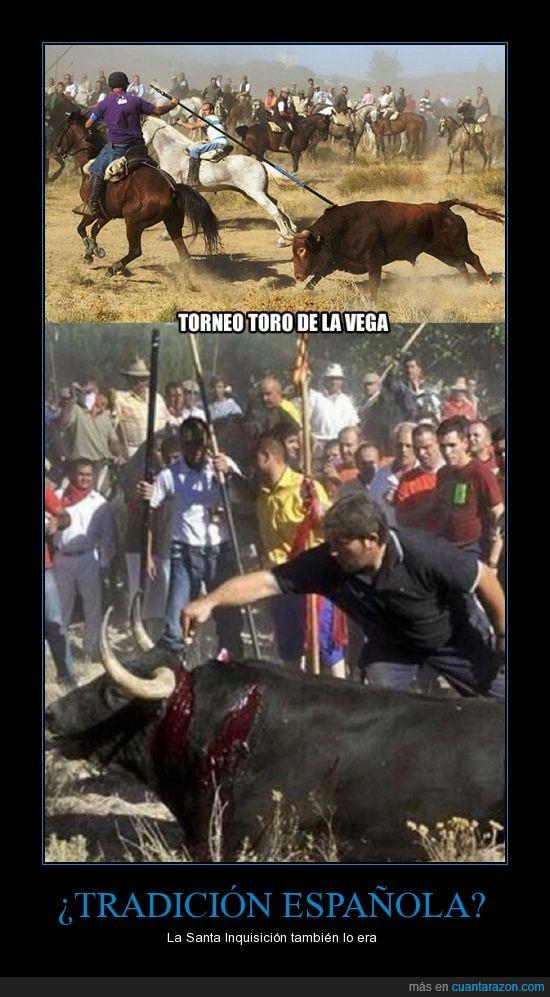 drama,españa,muerte,sangre,tordesillas,toro de la vega,toros,tradición