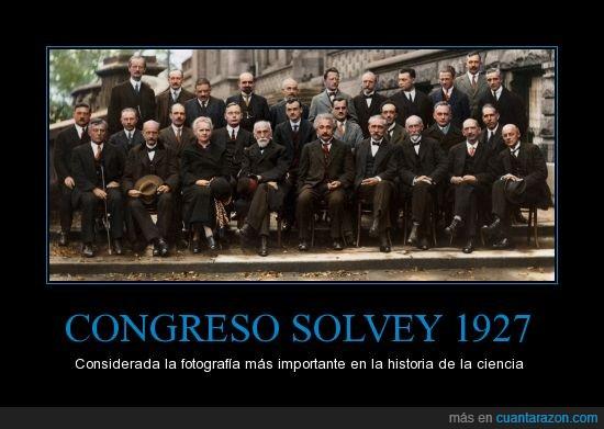 Albert Einstein,Congreso Solvey 1927,Erwin Schrôdinger,Marie Curie,Max Planck,Niels Bohr,Wolfgang Pauli
