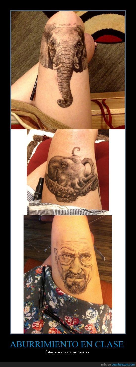arte,boli,dibujar,elefante,Jody Steel,pierna,walter white
