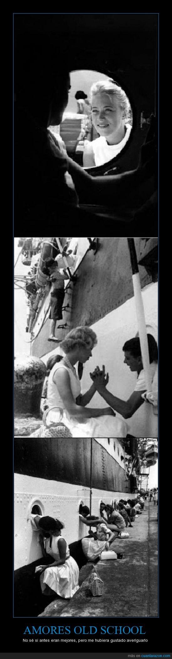 Amores,Buque miltar,despedida,escuela,Italia