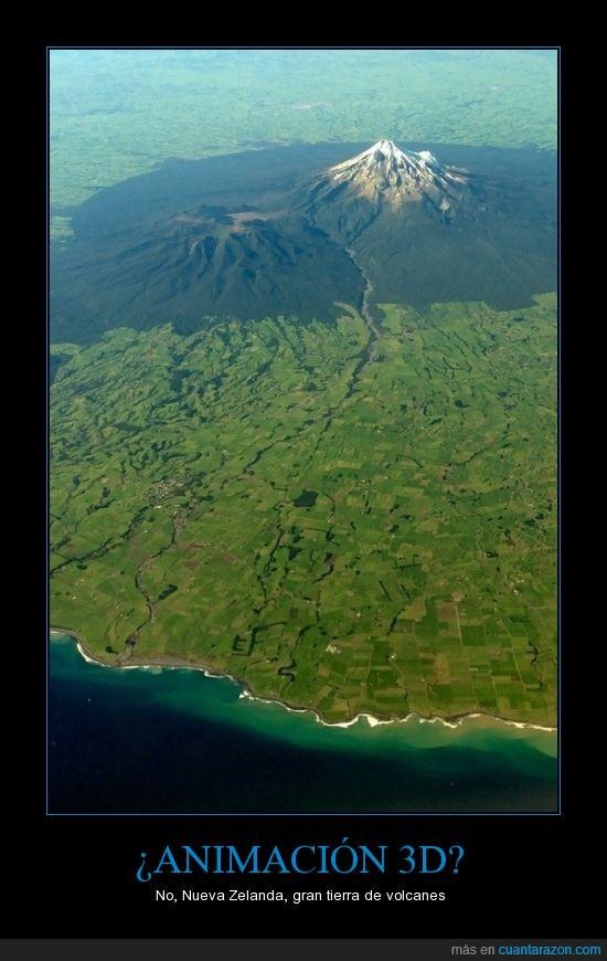 montaña,tierra,verde,volcanes