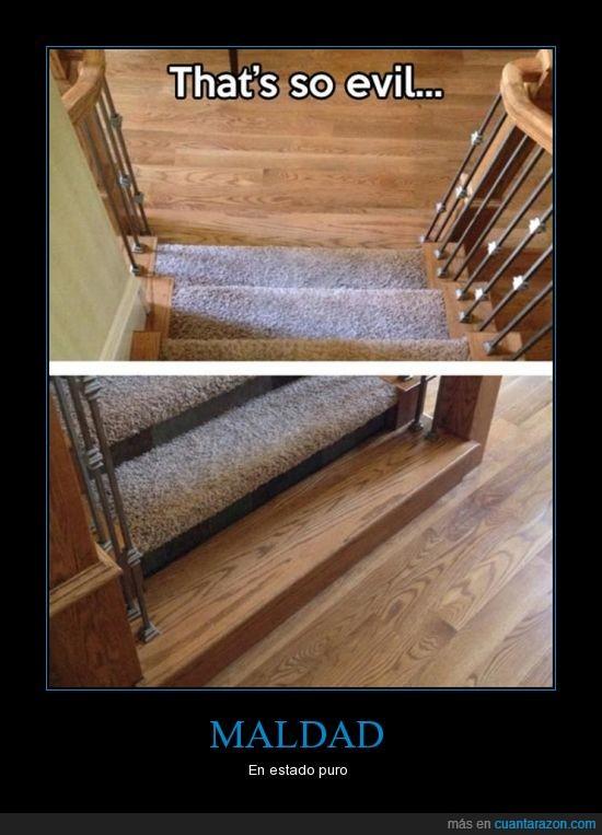 alfombra,escalera,escalon,hostia,madera,moqueta,parecer,ultimo