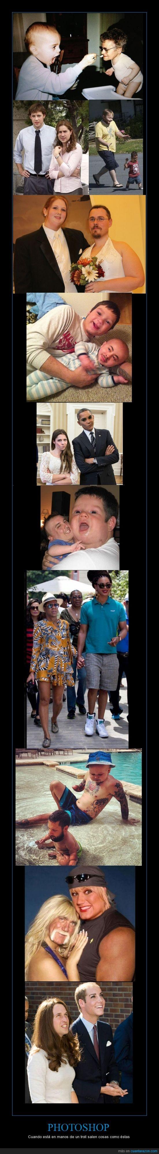 bebes,face swaps,novios,obama,pareja real,photoshop,troll.joder fotos