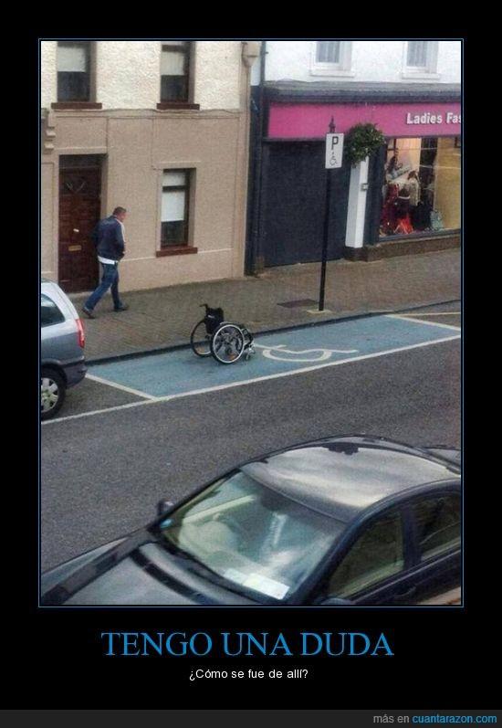 discapacitado,estacionamiento,silla,silla de rueda