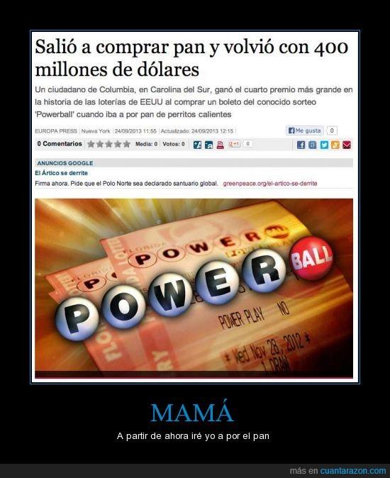 400 millones,ganar,hotdog,loteria,pan,premio,sorteo,suertudo