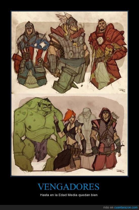captain america ironman hulk thor hawkey fury blackwidow avengers