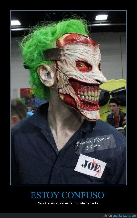 fx,Joker,maquillaje,mascara