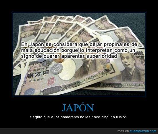dejar,dinero,japon,propina,superior